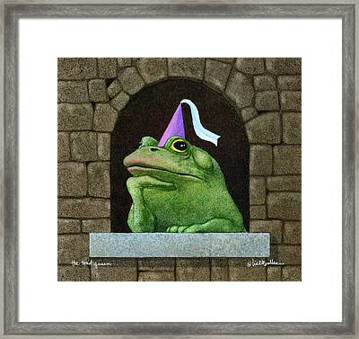 Toad Queen... Framed Print by Will Bullas