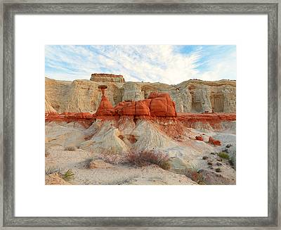 Toadstool Hoodoo's Framed Print by Johnny Adolphson