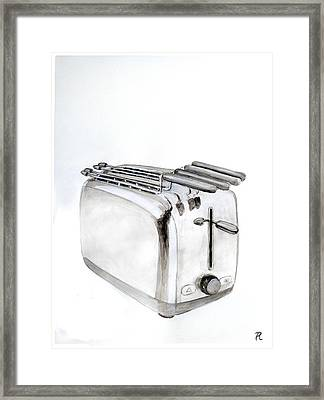 Toaster Framed Print by Renzo