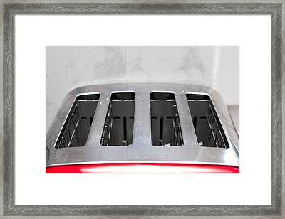 Toaster Framed Print by Tom Gowanlock