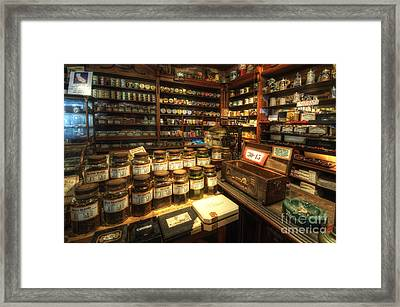 Tobacco Jars Framed Print