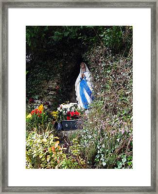 Tobernalt Holy Well Framed Print by Amy Williams