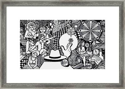 Today I No More Have Birthdays Framed Print