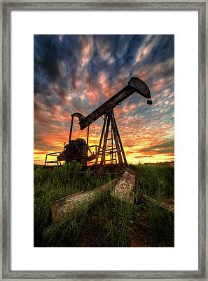 Today Framed Print by Matt Smith
