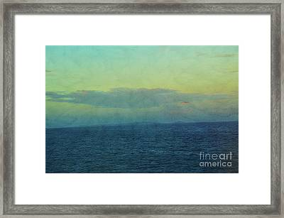 Today Tomorrow And Always Framed Print by Robyn King