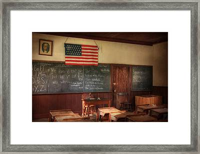 Today's Lesson Framed Print by Lori Deiter