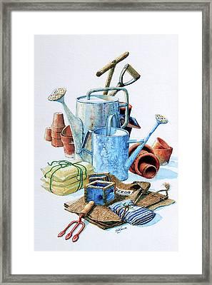 Todays Toil Tomorrows Pleasure Iv Framed Print