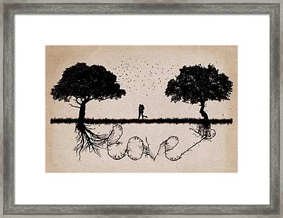 Together 3 Framed Print