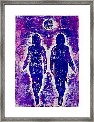 Together Always  Framed Print