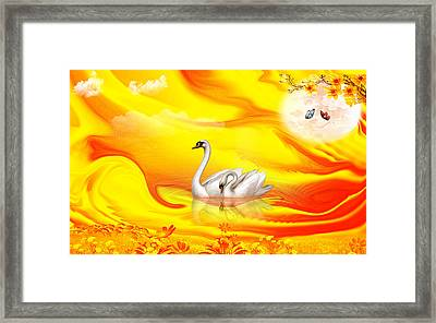 Together Framed Print by An hy Quach hong