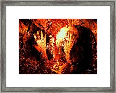 Together Framed Print by Angela Treat Lyon