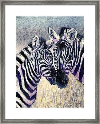 Together Framed Print by Arline Wagner