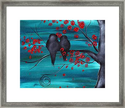 Together As One Framed Print by  Abril Andrade Griffith