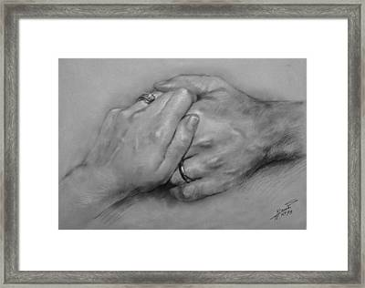 Together For Ever Framed Print by Ylli Haruni