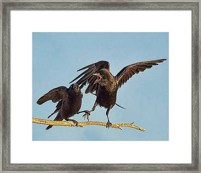 Together Forever With A Control Freak  Framed Print