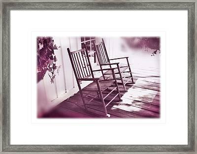 Together Forever Framed Print by Mal Bray
