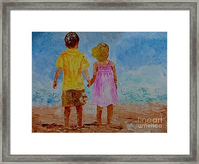 Together Framed Print by Inna Montano