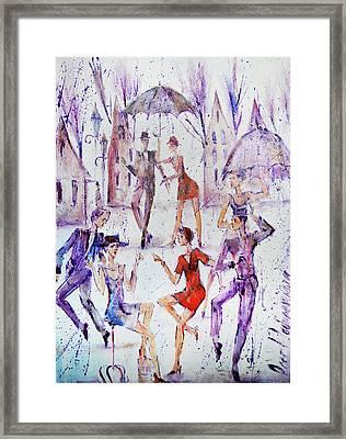 Together Framed Print by Oleg Poberezhnyi