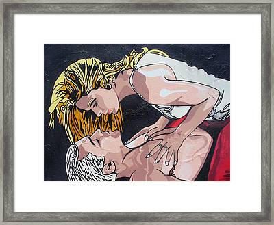 Together Framed Print by Sarah Crumpler