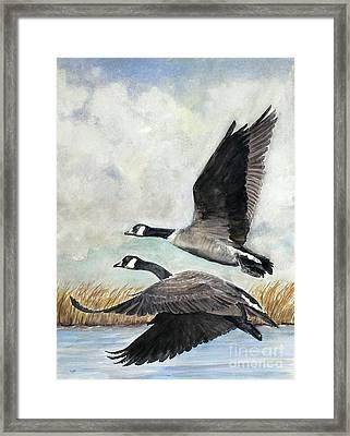 Together Framed Print by Susan Driver