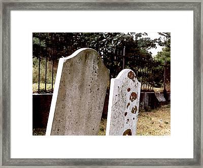 Together Through Time Framed Print by Paul Sachtleben