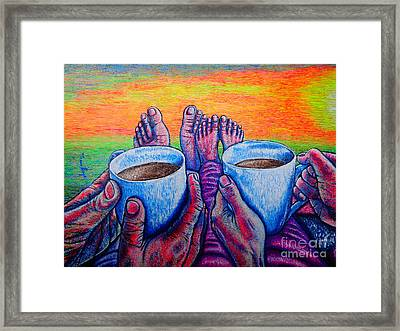 Together Framed Print by Viktor Lazarev