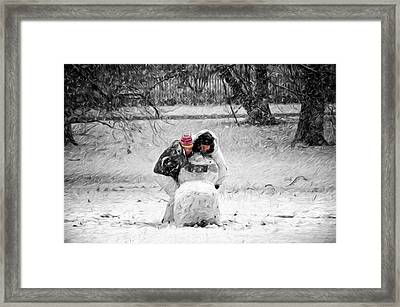 Together We Can Framed Print by Steven Michael