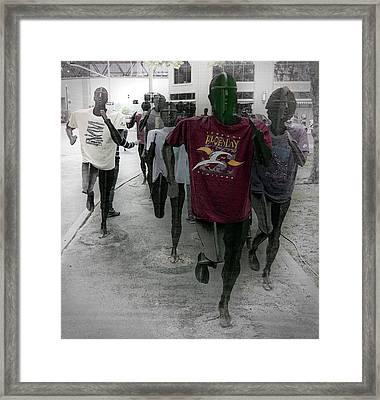 Together We Run - Bloomsday Spokane Framed Print