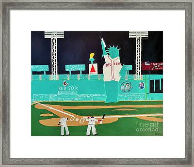 Together We Stand Framed Print by Dennis ONeil
