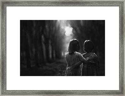 Togetherness Framed Print by Dodyherawan