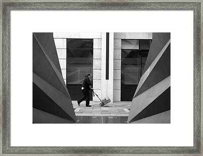 Framed Print featuring the photograph Toil Toil by Jez C Self