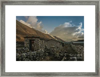 Framed Print featuring the photograph Toilet by Mike Reid