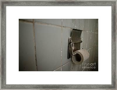 Toilet Paper Framed Print