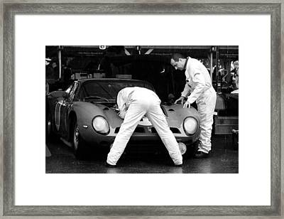 Tojeiro-jaguar Framed Print by Robert Phelan