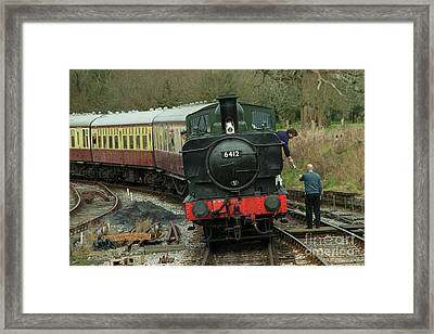 Token Pannier Tank  Framed Print by Rob Hawkins