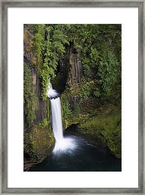 Toketee Falls Framed Print by Brian Bonham