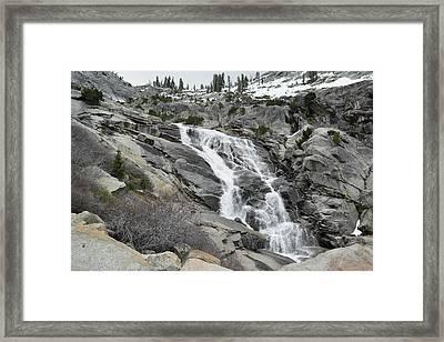 Tokopah Falls Framed Print