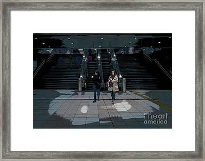 Tokyo Metro, Japan Poster Framed Print