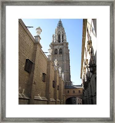 Toledo Church IIi Framed Print