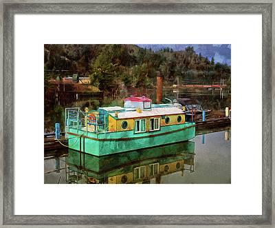 Toledo Showboat Framed Print