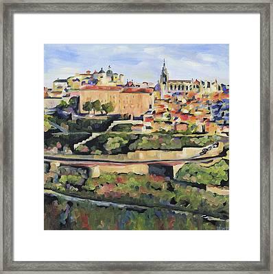 Toledo Spain Framed Print by Anne Lewis