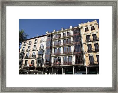 Toledo Vintage Buildings Framed Print