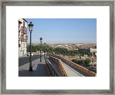 Toledo Walkway II Framed Print