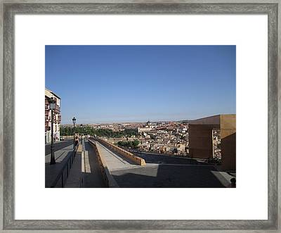 Toledo Walkway Framed Print