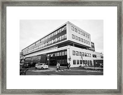 Toll Husid Directorate Of Customs Tollstjori Building Reykjavik Iceland Framed Print by Joe Fox