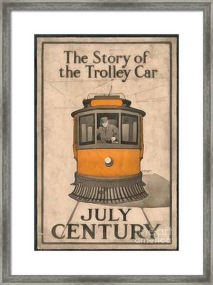 Tolley Car Vintage Framed Print by Edward Fielding