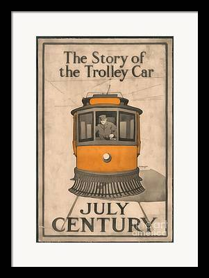 Trolley Framed Prints