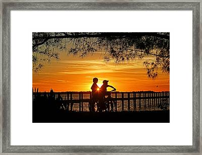 Tom And Huck Framed Print by HH Photography of Florida