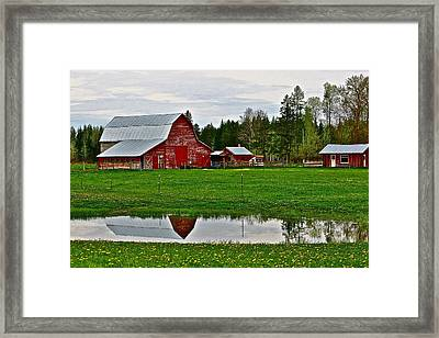 Tom And Sylvia's Framed Print