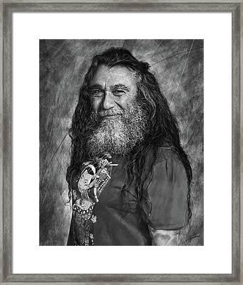 Tom Araya 2 Framed Print